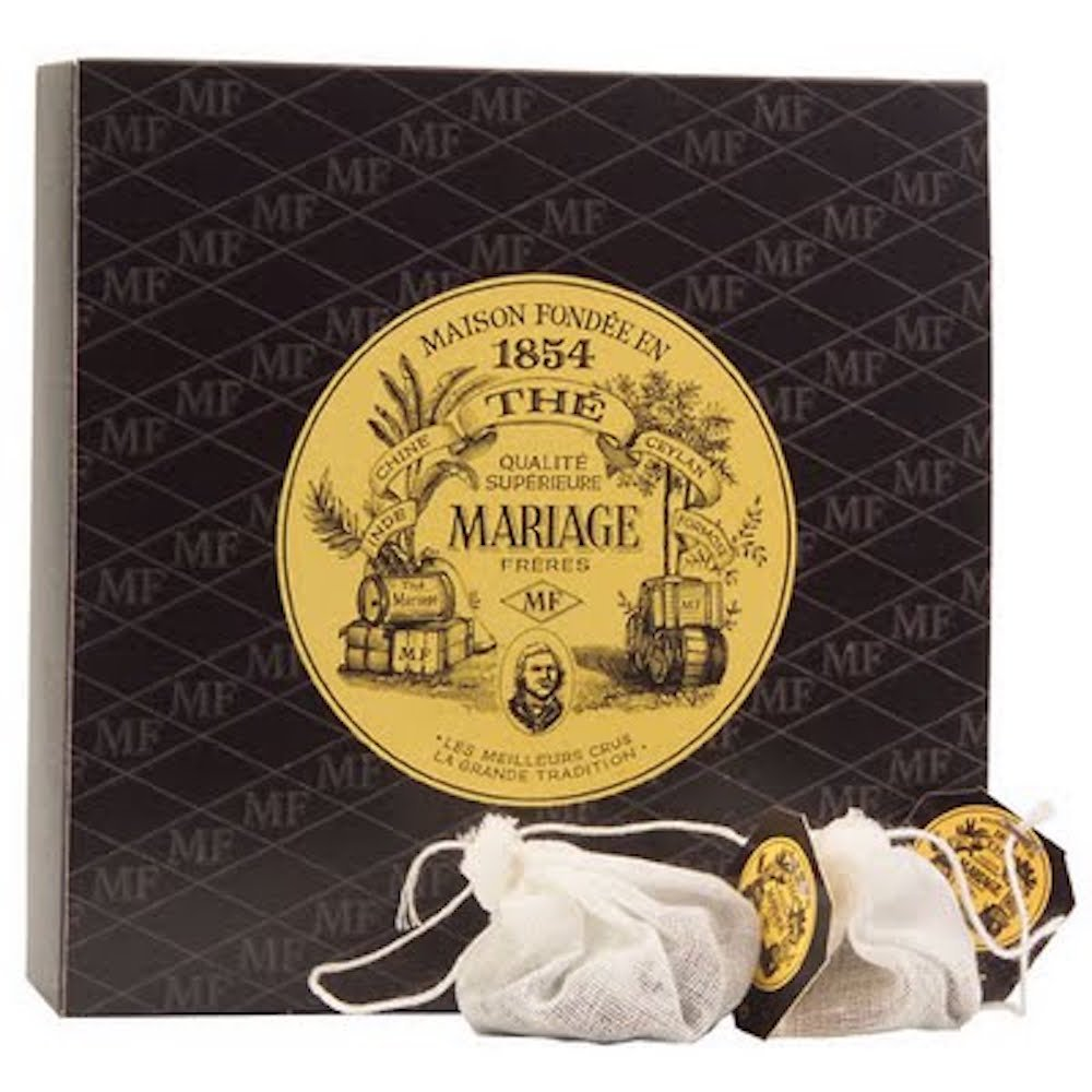 MARIAGE FRERES. Blanc and Rose Tea, 30 Tea Bags 75g (1 Pack) Seller Product Id MR12RA5S - USA Stock by Mariage Frères