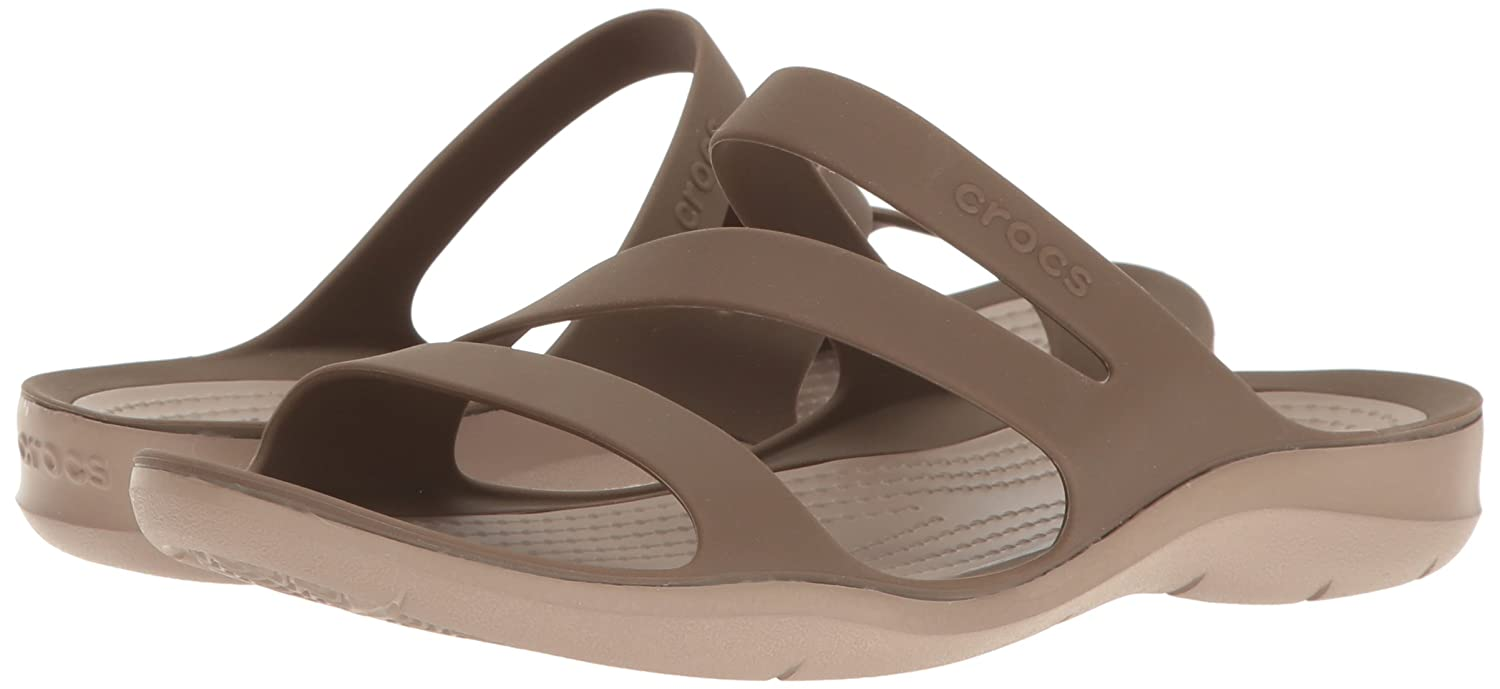 Crocs Women's Swiftwater US|Walnut Sandal B01H6ZR4DW 11 B(M) US|Walnut Swiftwater beabf2