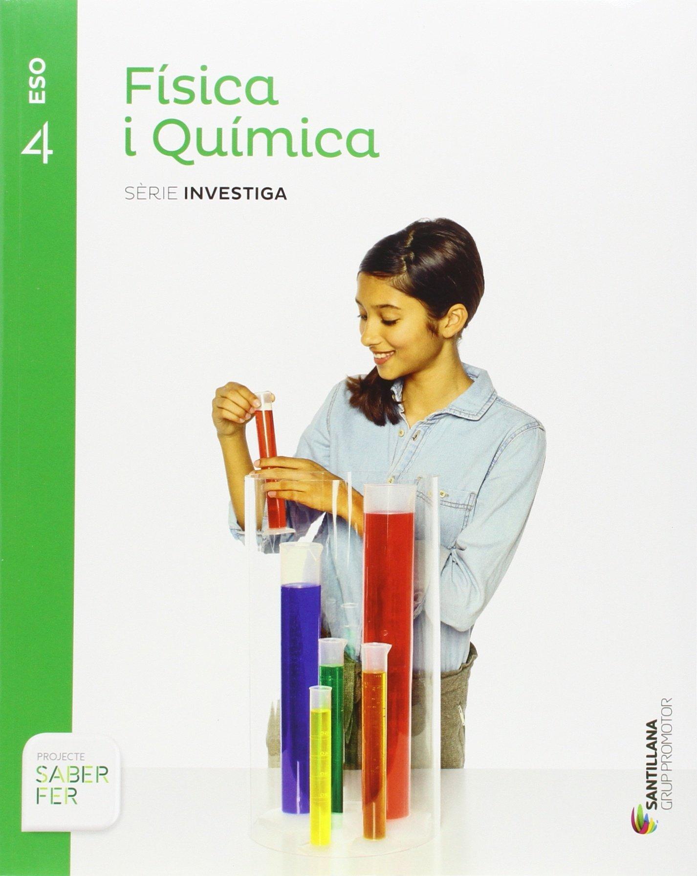 Read Online (CAT).(16).FISICA QUIMICA 4T.ESO (INVESTIGA) SABER FER pdf epub