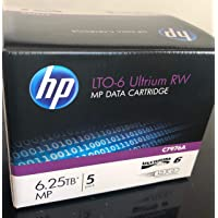 5Pack HP c7976a LTO6Data Tape 6.25tb (nuevo)