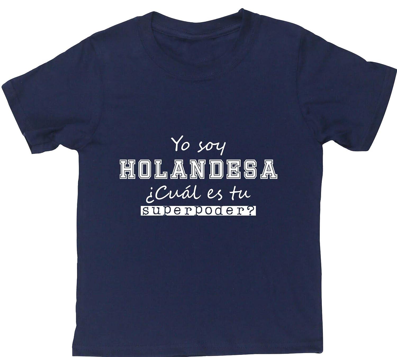 HippoWarehouse Yo Soy Holandesa, ¿Cuál es tu Superpoder? camiseta manga corta niños niñas unisex: Amazon.es: Ropa y accesorios