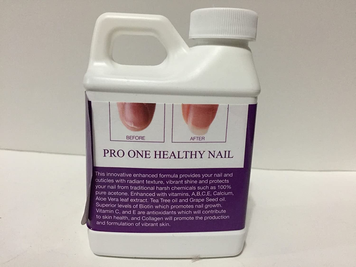 Amazon.com : Pro One Healthy Nail Nail Lacquer Gel Polish Remover (Soak Off) : Beauty