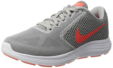 separation shoes c96f5 09418 Nike Damen Revolution 3 Laufschuhe, Grau, 36 EU