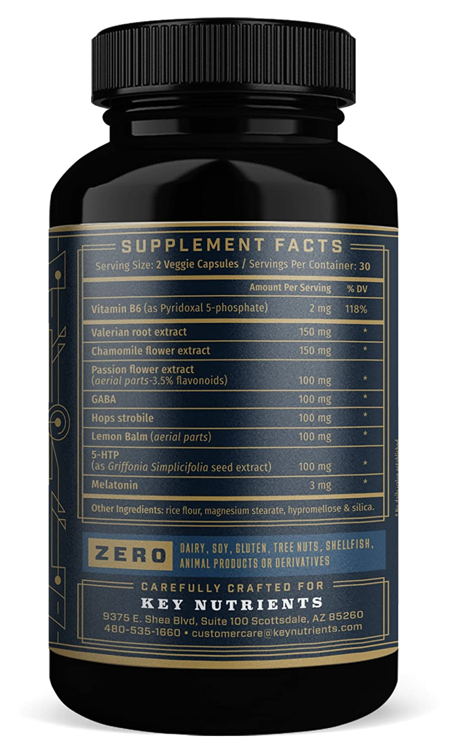 Natural Sleep Aid, Lights Out: Contains Melatonin, Valerian, Passion Flower, More. 60 Sleeping Pills, Veggie Capsules, Non-Habit Forming Sleep ...