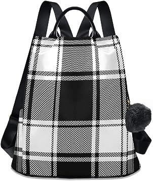 Checkered backpackPlaid rucksackHipster bag