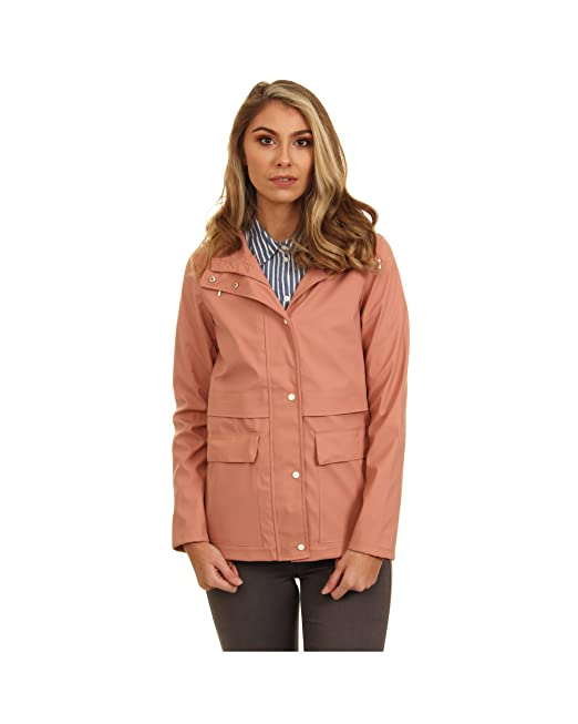 61452fa81564 Only Onlnew Train Short Raincoat Otw, Chaqueta Impermeable para Mujer