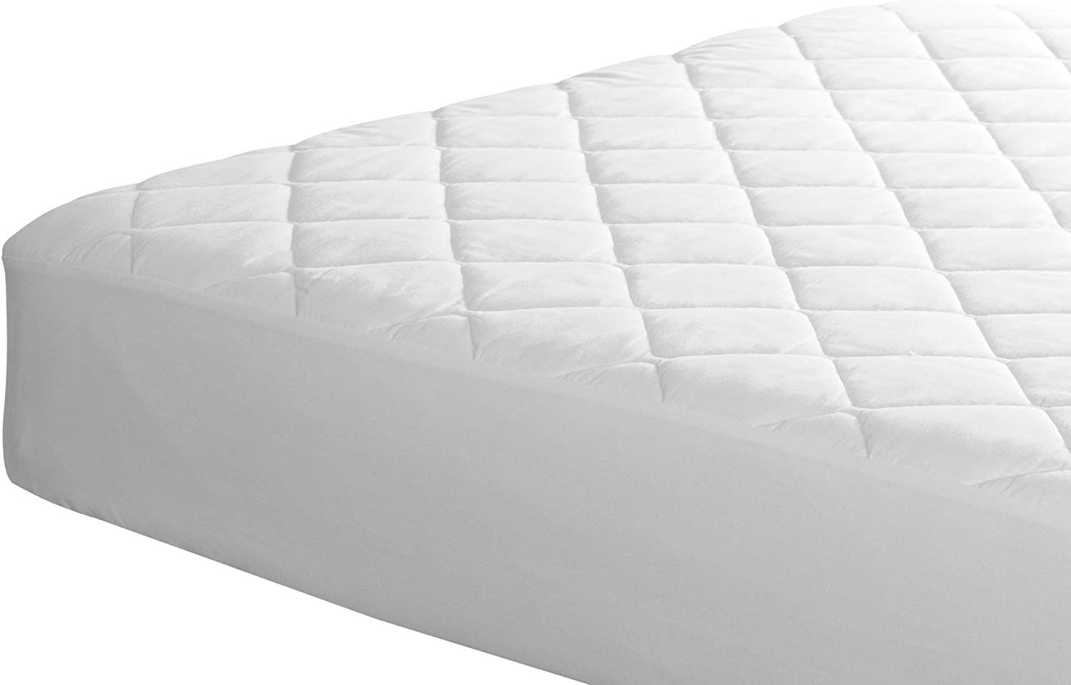 Horeca Classics Quilted Waterproof mattress protector Queen size White Dust mite resistant Anti/_Ultraviolet Easy care