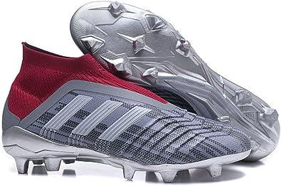 Aislar humor Enjuiciar  Unisex x Paul Pogba Predator 18+ FG Grey Burgundy Soccer Cleats Botas de  Fútbol para Hombre: Amazon.es: Zapatos y complementos