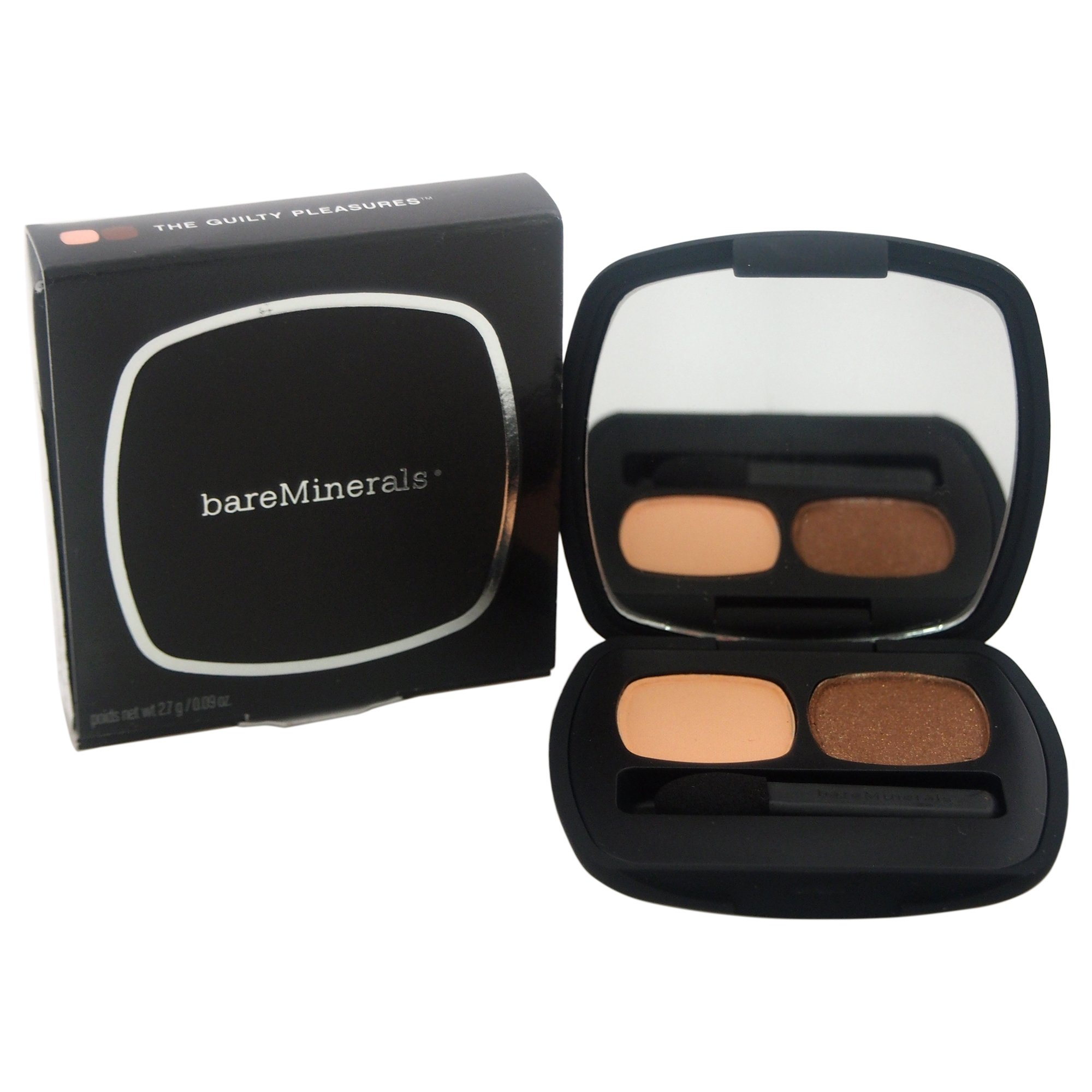 bareMinerals Ready 2.0 Duo The Guilty Pleasures Eyeshadow for Women, 0.09 Ounce