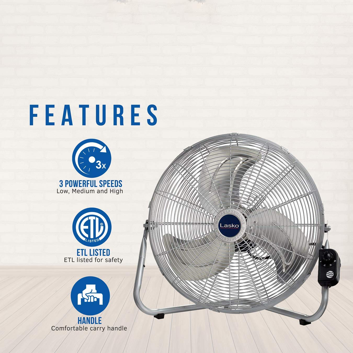 Best High Velocity Floor Fan Reviews 12