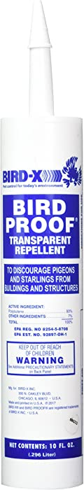Bird-X 54-1 Proof Bird Repellent Gel-10 oz, 1-(Pack)