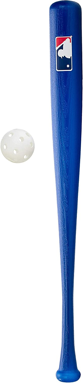 "Franklin Sports MLB 30"" Authentic Plastic Bat & Ball Set"