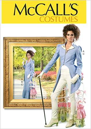 McCalls M7373 PATTERN Size 6-22 Misses Coat Costumes New