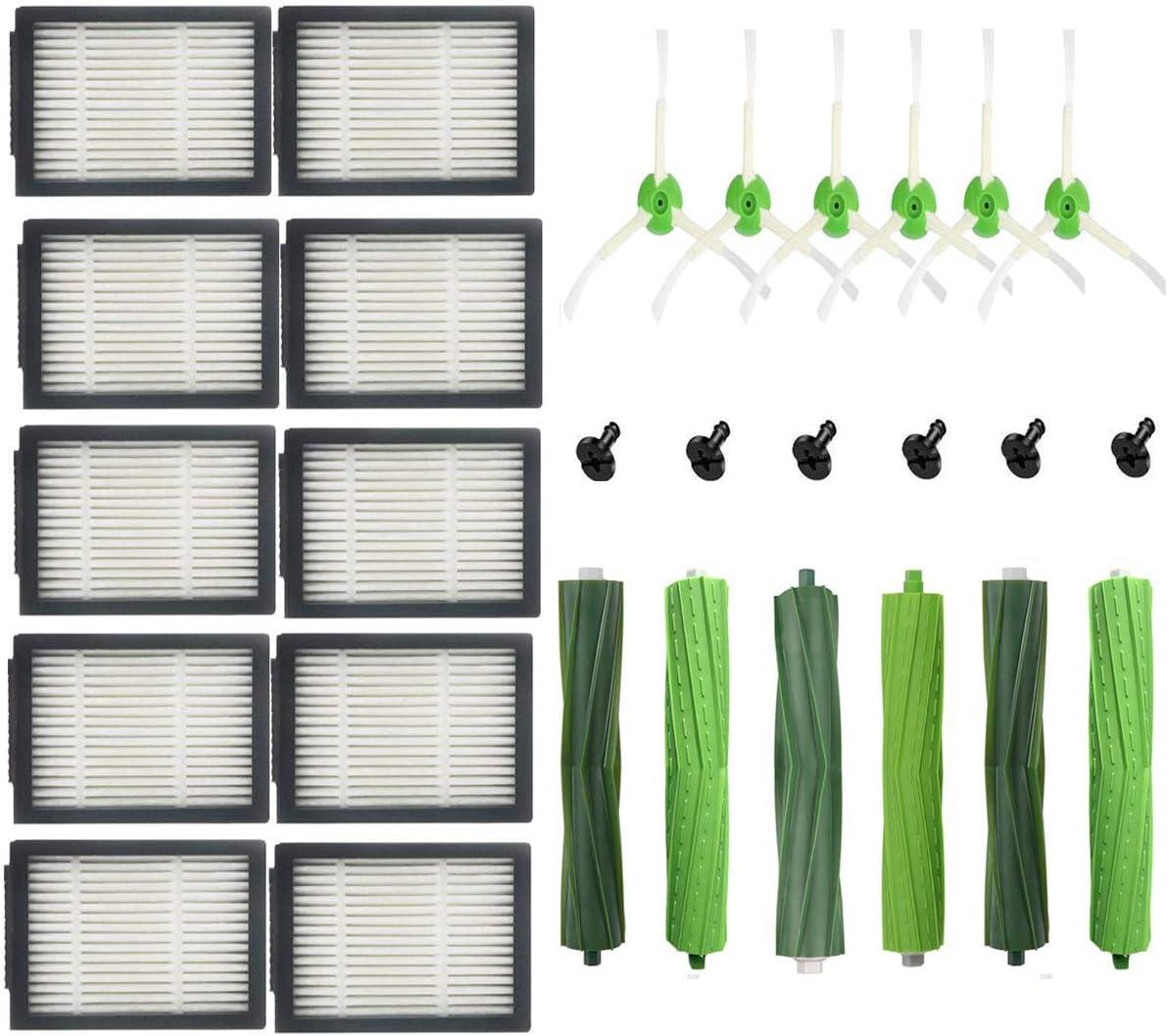 Pi/èces de rechange Roomba Accessoires Kit doutils de remplacement pour pi/èce de rechange pour aspirateur iRobot Roomba i7 (i7-05501)