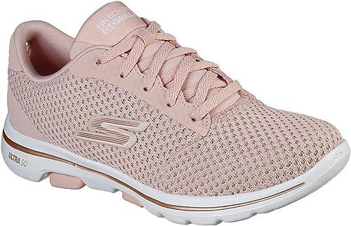 Skechers Go Walk Womens GO Walk 5 Debut SportschuheLaufschuhe Women Pink