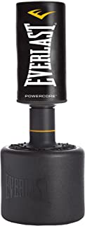 Everlast Power core Freestanding Heavy Bag Black/White  sc 1 st  Amazon.com : heavy bag stand weight plates - Pezcame.Com