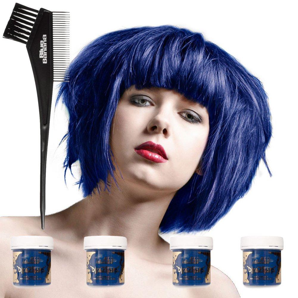 4 x La Riche Directions Semi-Perm Hair Colour Atlantic Blue (ALL COLOURS Avail) 4x 88ml by La Riche