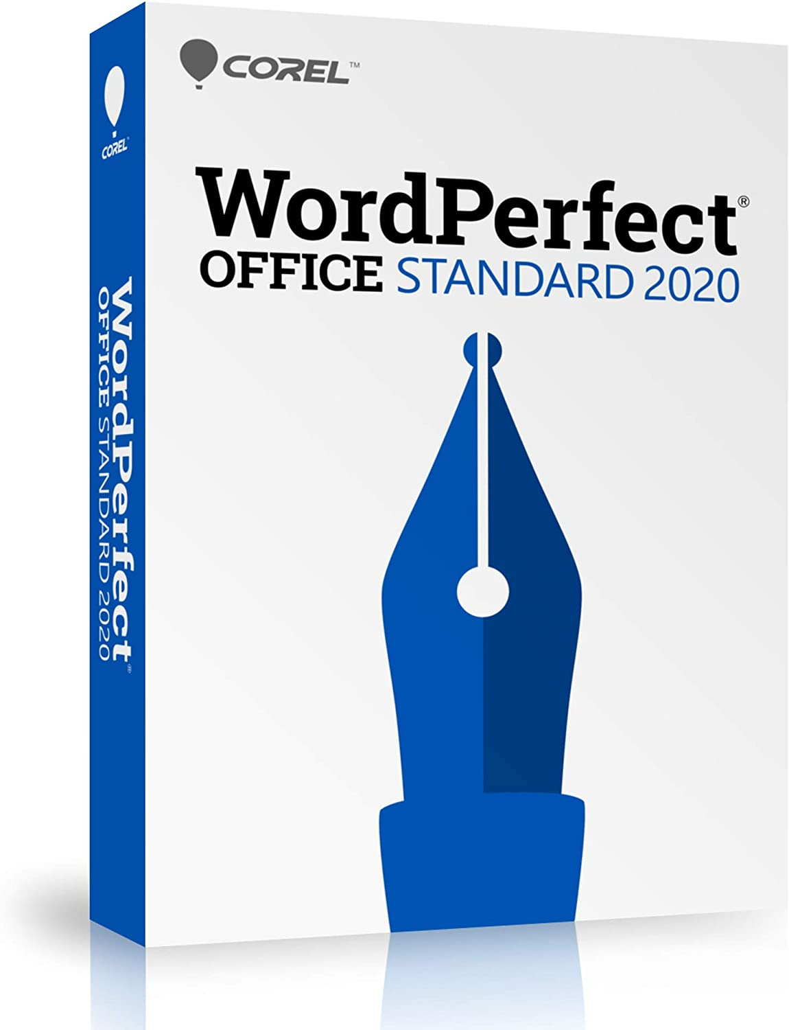Corel WordPerfect Office 2020 Standard | Word Processor, Spreadsheets, Presentations | Newsletters, Labels, Envelopes, Reports, Fillable PDF Forms, eBooks [PC Disc]