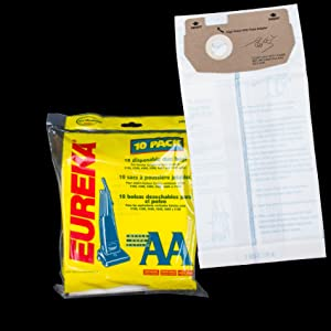 Eureka Micro Filter Upright Vacuum Cleaner Type AA Bags 3 Pk Generic Part # 158SW