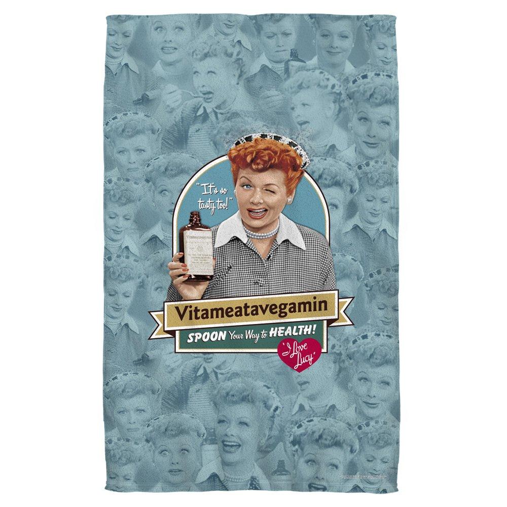 I Love Lucy Vitameatavegamin Beach Towel (30''x 60'')