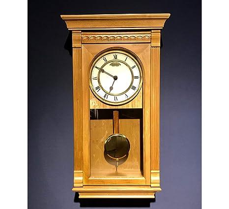 RELOJESDECO Reloj de Pared de péndulo 58 cm, Reloj de péndulo, Reloj de carrillón