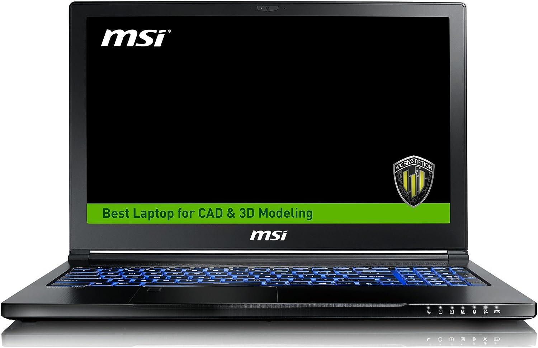 TALLA 16GB RAM | 2TB HDD + 512GB SSD. MSI WS63VR 7RL-094ES - Ordenador portátil de 15.6