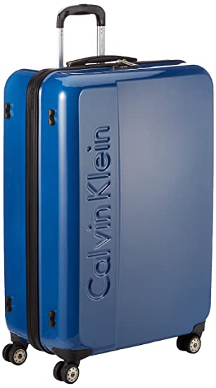 finest selection 17fa5 51548 Calvin Klein Beacon Koffer, 79 cm, 110 Liter, Blau: Amazon ...