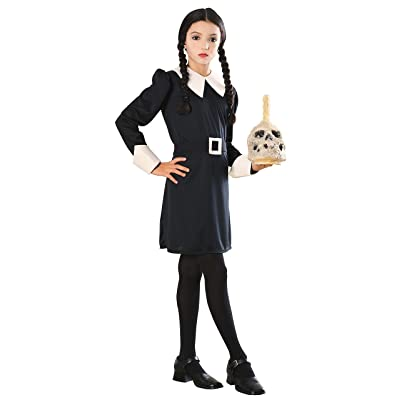Addams Family Child's Wednesday Addams Costume, Small: Toys & Games