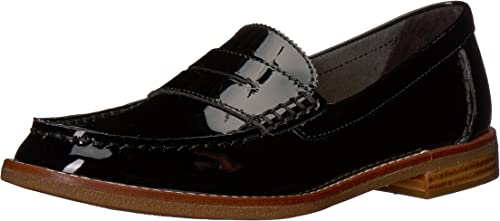 Seaport Penny Loafer, Black Patent