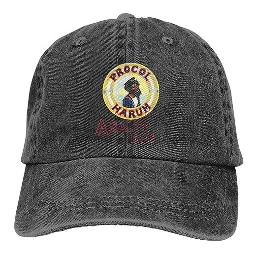 ba8cdd35ccb5b Joshuaet Procol Harum A Salty Dog Fashion Classic Adjustable Cowboy Hat  Cool Baseball Cap for Men Women Black at Amazon Men s Clothing store