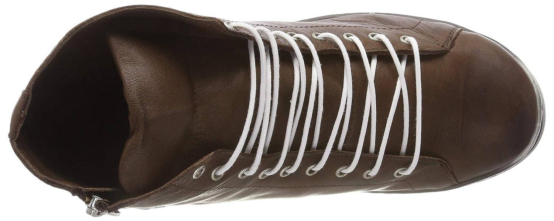 Andrea Sneaker, Conti Damen 0341500 Hohe Sneaker, Andrea Braun (Dunkelbraun 061) 41f7c0