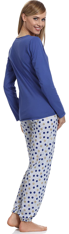 Merry Style Pijamas Conjunto Camisetas Mangas Largas y Pantalones Largos Ropa de Dormir de Cama Lencería Mujer 965: Amazon.es: Ropa y accesorios