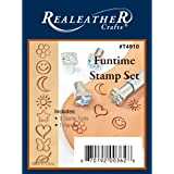 Realeather Crafts Funtime Stamp Set