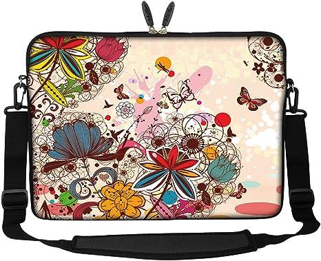 "17/"" 17.3/"" Laptop Notebook Computer PC Handle Sleeve Case Bag w// Hide Handle MY"
