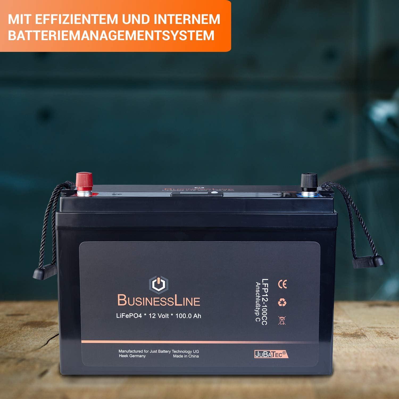 Lifepo4 Battery 12 V 100 0 Ah With Bms Battery Elektronik