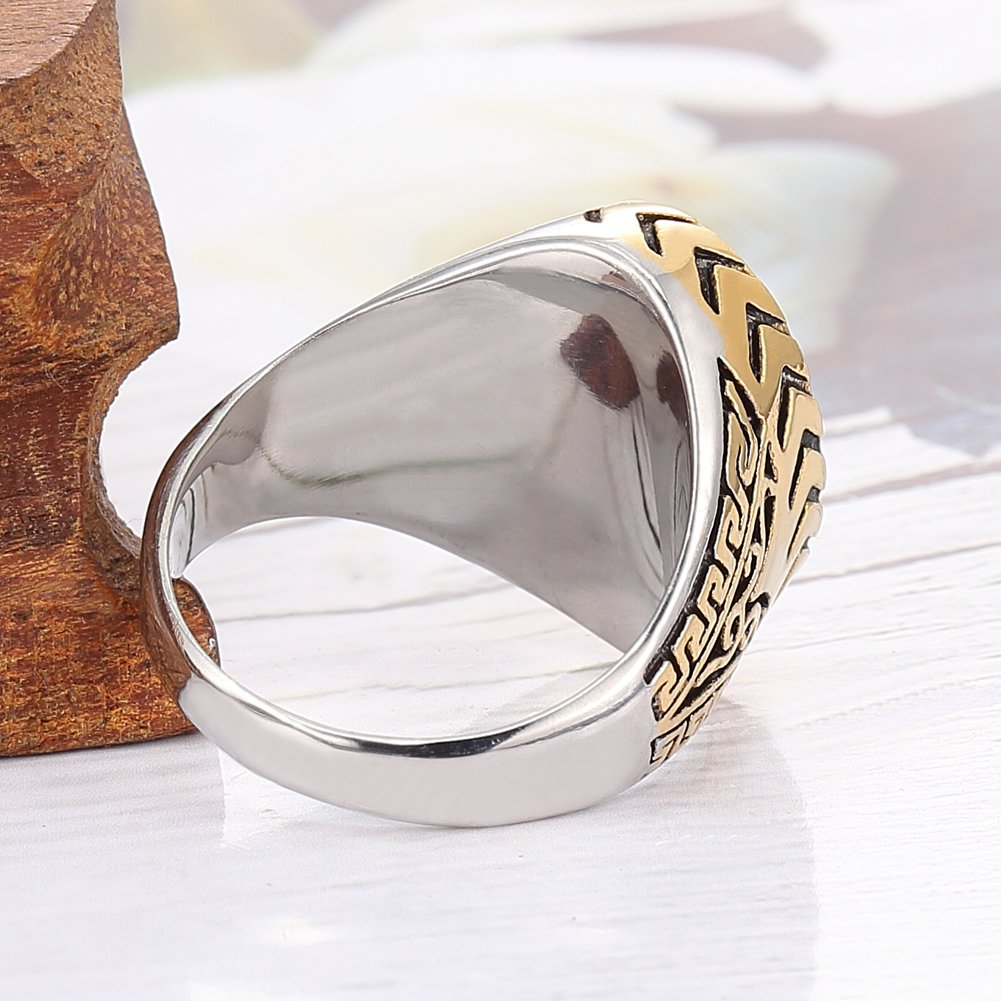 CloseoutWarehouse Black and Clear Cubic Two Bond Circles Ring Sterling Silver