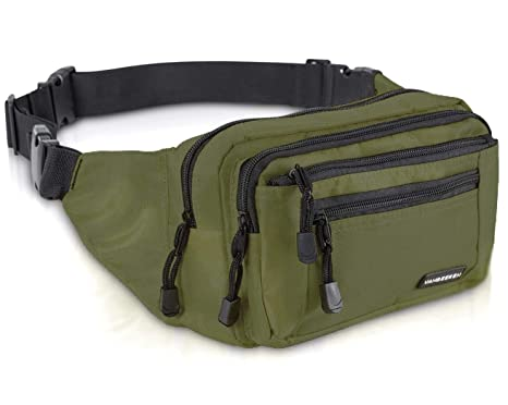 550e18eda4 Amazon.com | VAN BEEKEN Fanny Pack for Men Women Belt Bag Waist Bag Hip Bag  I Waterproof Bum Bag I Supreme Waist Pack Phanny Pack for Hiking Travel  Running, ...
