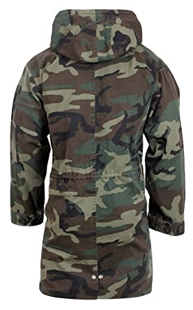 Amazon.com: Rothco's Vintage Camo M-51 Fishtail Parka: Sports ...