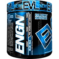 Deals on Evlution Nutrition ENGN Pre Workout Powder, Blue Raz, 30 Servings