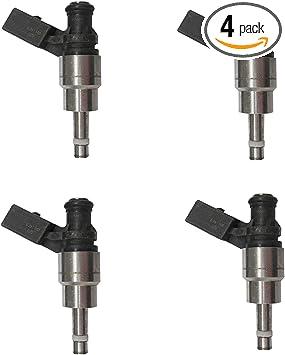 06F906036A 4pcs Fuel Injectors for Audi A3 A4 TT VW Passat Jetta GTI EOS 2.0L L4