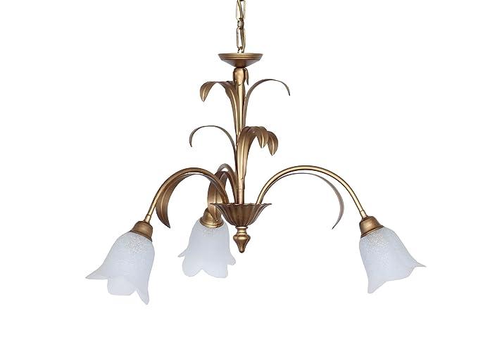 Made in italy valfb or illuminazione interni lampadario a