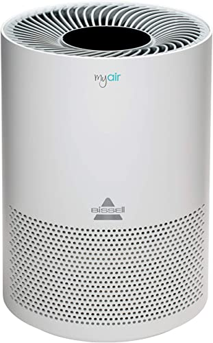 Okaysou AirMax8L Medical Grade Ultra-Duo Air Purifier for Pets, Smokers, Odors, 5-in 1 Large Room Air Cleaner, True HEPA Filter, Eliminates Pet Hair, Smoke, Dust, Pollen, VOCs, 500 Sq. Ft.- White