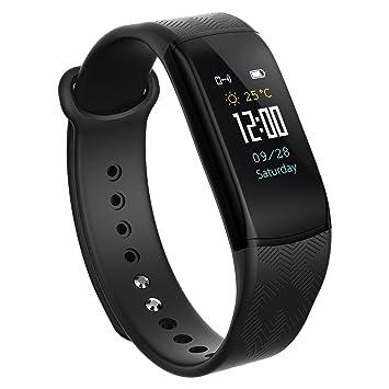Montre Connectée - Bracelet Connecté Podomètre Poignet Fitness Tracker dActivité Cardio Etanche Podometre Femme