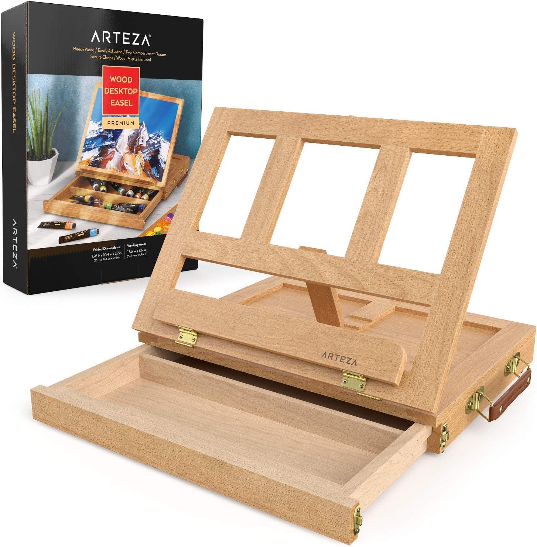 1 St/ück TAVOLOZZA Tischstaffelei aus Holz 27,9 cm hoch
