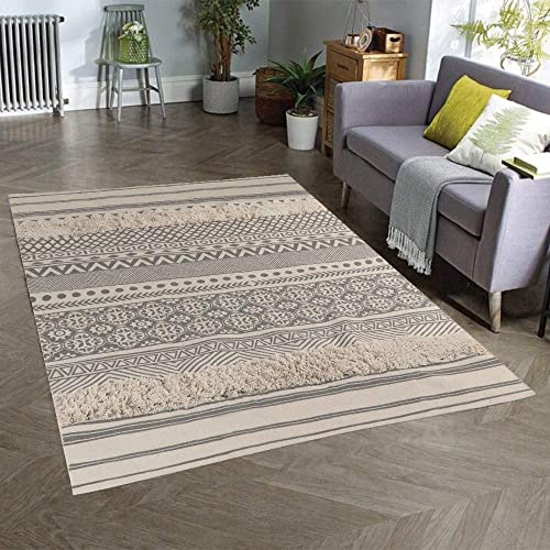 Seavish Tufted Cotton Area Rug