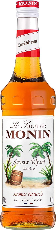 Sirope Monin Ron Caribean 70 Cl: Amazon.es: Alimentación y ...