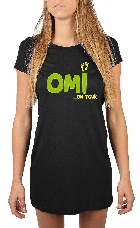 Nachthemd Damen Omi… on Tour für Oma Sommerkleid Nachtkleid Geschenk für Oma