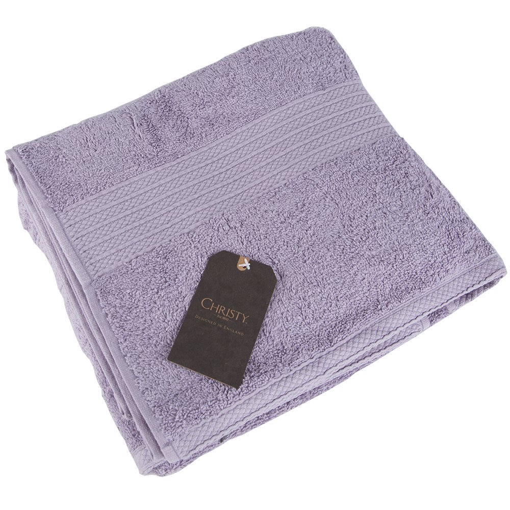 Christy Georgia Lavender Bath Sheet (1 x BATH SHEET ONLY 90 x 150 cm) CGGILVGTW4
