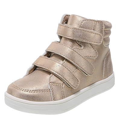 fb45e8c1037f Brash Rose Gold Girls  Phoenix Toddler High-Top Sneaker 5 Regular