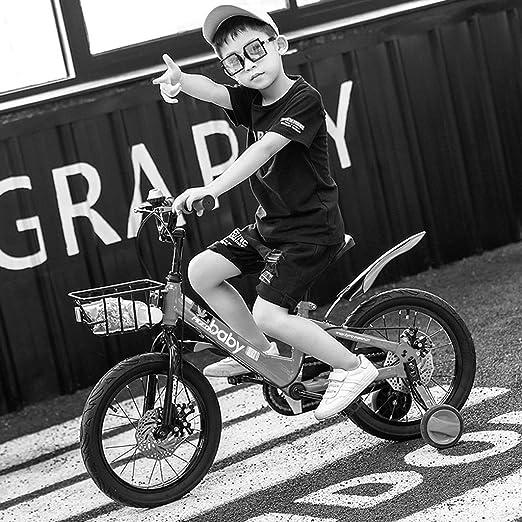 Amazon.com: Bicicletas para niños azules 2-4-6-7-8 años ...